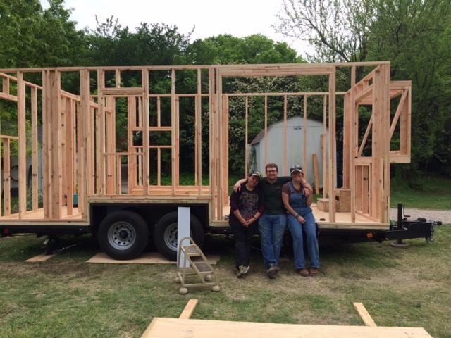 Vina's House build in Dallas
